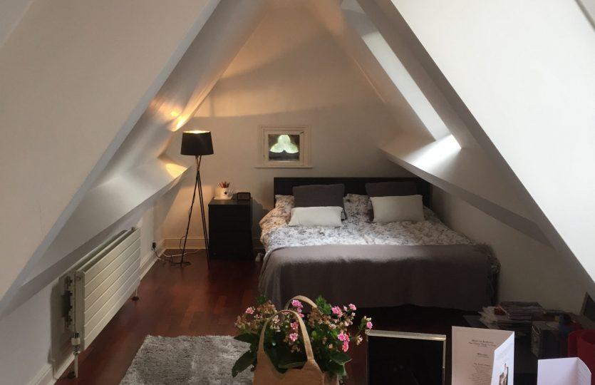 Collegiate Crescent attic bedroom